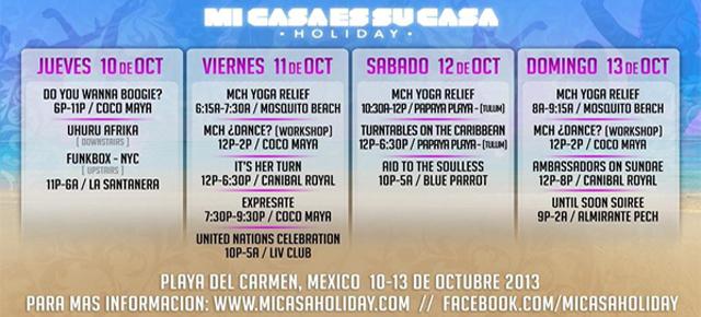 Mi Casa Es Su Casa : Season 5 Finale – Playa Del Carmen, Mx