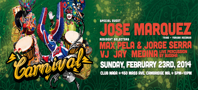 House of Pela presents: Carnival featuring Jose Marquez