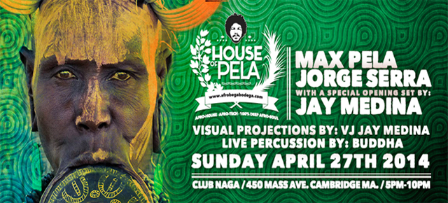 Afrobeta Bodega presents: House of Pela
